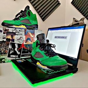 Jordan 5 Retro Apple Green DS Size 9 Mens